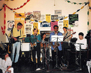 The Wedding Party Allstars in Berzdorf 1995